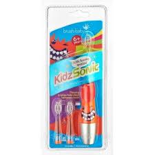 Электрическая звуковая <b>зубная щетка Brush-Baby KidzSonic</b> для ...