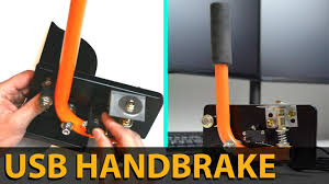 MAKE THIS EASY USB <b>HANDBRAKE</b> | SIM RACING | DIY | E ...