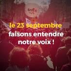 Le 23 septembre 2021, faisons entendre notre voix ! - Tous en grève