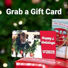 Gift Card at Tractor Supply Co.