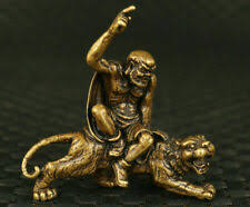 <b>Bronze</b> Tiger in Antique <b>Chinese</b> Figurines & Statues for sale | eBay