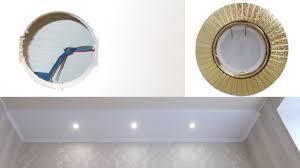 Точечные светильники, установка и подключение. - YouTube