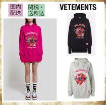 <b>VETEMENTS</b> 2019 SS <b>Long Sleeves</b> Cotton Oversized <b>Hoodies</b> ...