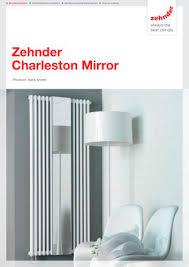 <b>Zehnder Charleston Mirror</b> - Zehnder - PDF Catalogs ...