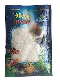 <b>Эко</b> Грунт <b>Кварцевый песок</b> «Кристальный» 1,0-2,0 мм 1 кг ...