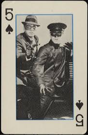 images vintage play green hornet playing cards no usa