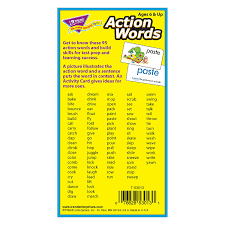 amazon com action words skill drill flash cards pack of 96 card amazon com action words skill drill flash cards pack of 96 card game toys games