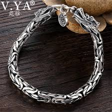 <b>Genuine 100</b>% <b>Real</b> Pure <b>925</b> Sterling Silver Bracelet 5 7MM ...
