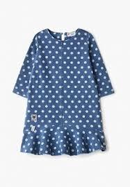 Купить повседневные <b>платья</b> для девочек <b>Button Blue</b> (Баттон ...