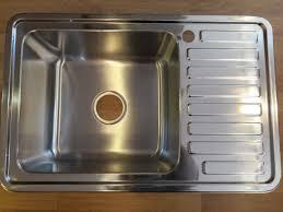 <b>Мойка</b> для кухни из нержавеющей стали (толщ. 1,0 мм) MLN ...