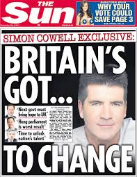 Image result for the sun newspaper