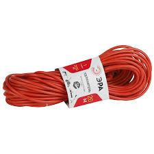 <b>Удлинитель</b>-шнур <b>ЭРА</b> 1Г <b>без</b> заземления, 2 х 1 кв. мм, 20 м ...