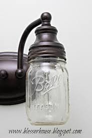 jar pendant chandelier light bathroom vanity