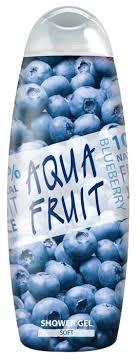 <b>Гель для душа AQUAFRUIT</b> blueberry soft — купить по выгодной ...