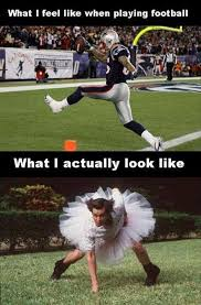 What I feel like when playing american football | Funny Dirty ... via Relatably.com
