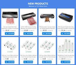 YTK 220V 110W <b>Household</b> Food <b>Vacuum Sealer</b> Packaging ...