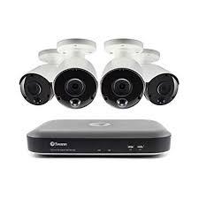 Swann 8 Channel 4 Camera Security System: <b>5MP Super HD</b> DVR ...