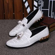 <b>2017 summer men's</b> white color hollow <b>breathable</b> loafers round toe ...