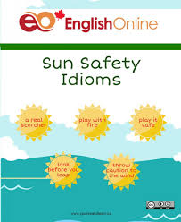sun safety idioms live learn step 2