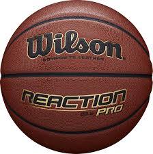<b>Мяч баскетбольный Wilson Reaction</b> Pro 285 Bskt, коричневый