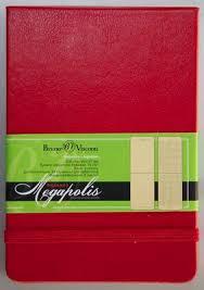 КАНЦ <b>Блокнот А5</b> 100 л. кл. <b>Bruno Visconti</b> 'Megapolis' (красный ...