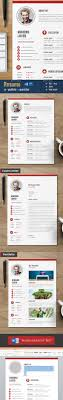 best images about infographic visual resumes clean cv resume template psd design graphicriver