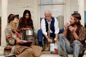 elizabeth rice as margaret hardgrove and john slattery as roger sterling mad men _ season art roger sterling office