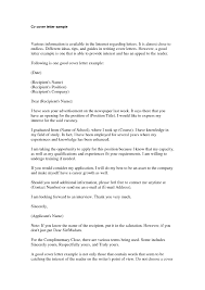 good examples cover letters for resumes resigning letter example good examples cover letters for resumes example cover letter for resume best business template sample resume