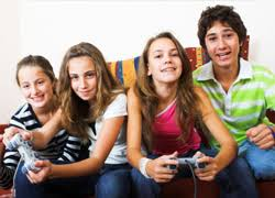 Image result for teens playing video games