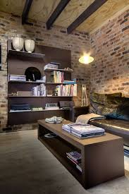 furniture home office modern home design with rustic style and brown furniture ideas plus wooden table brick office furniture