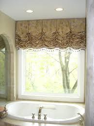 curtains bathroom window