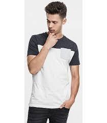 рубашка <b>Urban Classics 3</b>-<b>Tone</b> Pocket/TB969 - White/Charcoal/Gray