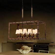 traditional 8 light vintage industrial lighting fixtures in rectangular shape antique industrial lighting fixtures