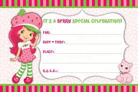 strawberry shortcake birthday invitations net strawberry shortcake birthday invitations plumegiant birthday invitations