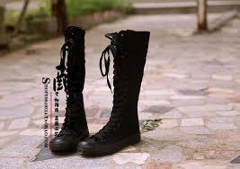<b>SWYIVY Women'S Canvas Boots</b> Shoes Bandage Lace 2018 New ...
