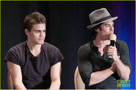 paul wesley ian somerhalder make us giggle in the vampire paul wesley ian somerhalder make us giggle in the vampire diaries season 5 bloopers watch here photo 3197290 ian somerhalder paul wesley pictures