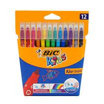 <b>Цветные фломастеры Bic</b> Kid Couleur детские смываемые 12 шт ...