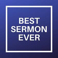 Best Sermon Ever
