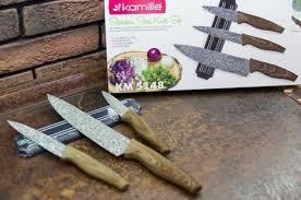 <b>Набор</b> кухонных <b>ножей 4</b> предмета Kamille КМ 5148. <b>Наборы</b> ...
