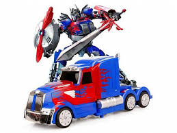 Р/У <b>трансформер MZ</b> Optimus Prime 2336Q 1/14, пульт ружьё ...