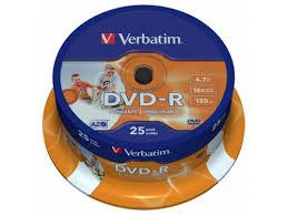 Купить оптический <b>диск Verbatim DVD</b>+<b>R 4.7 Gb</b>, 16x, Cake Box ...