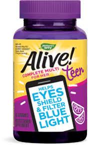 <b>Alive</b>!® Teen <b>Gummy Multivitamin for</b> Her | <b>Alive</b>!