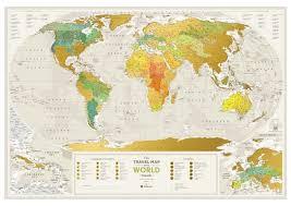 Купить <b>1DEA</b>.<b>me Скретч Карта Мира</b> Geography по низкой цене с ...