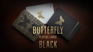 <b>Butterfly</b> Playing Cards <b>Black</b> by Ondrej Psenicka — Kickstarter