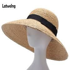 2018 New Raffia Women <b>Straw Summer Sun Hats</b> For Ladies Beach ...