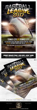 baseball flyer template by smashingflyers graphicriver baseball flyer template sports events