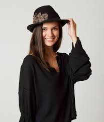 Adora <b>Fashion Fedora</b> - <b>Women's</b> Hats in Black | Buckle