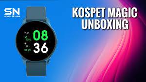 <b>Kospet Magic</b> Smartwatch - Igual ao Galaxy watch Active! Unboxing ...