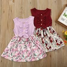 Summer Girls <b>Dress платье</b> для девочки Kids <b>Clothes</b> Summer ...