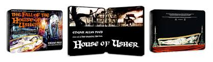 the fall of the house of usher blu ray